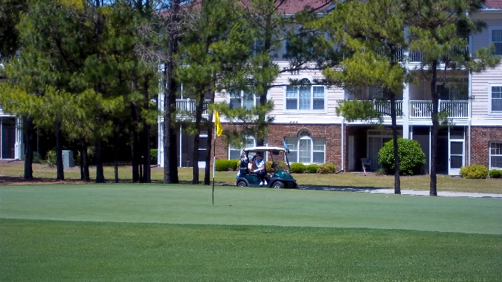 Golf Course Views From The Balcony of Your Myrtle Beach Condo