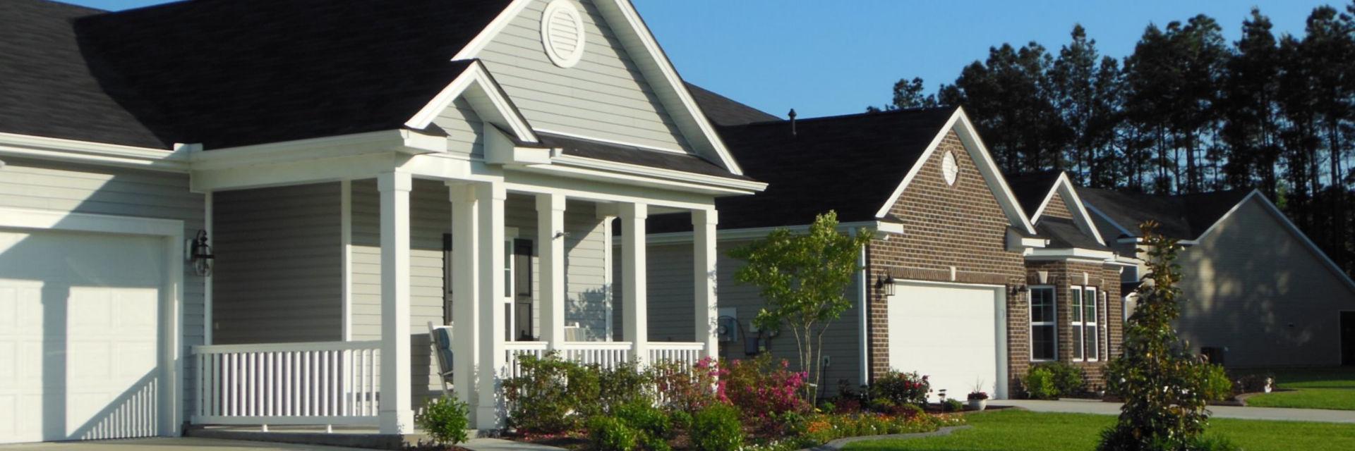 Homes Myrtle Beach in Active Adult Neighborhood