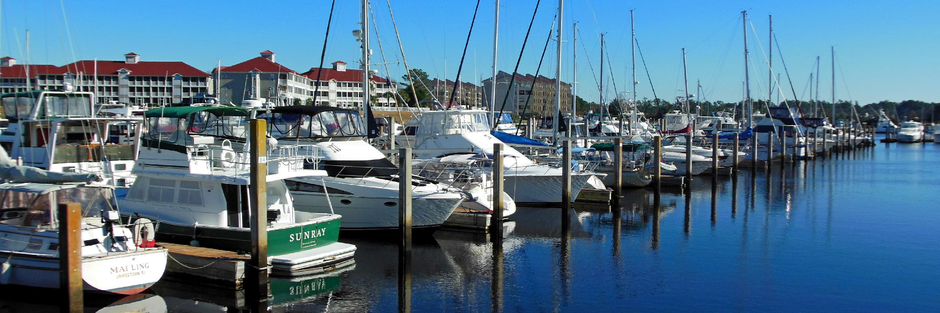 Boat Slips for Sale in Lightkeepers Marina Little River SC