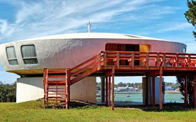 The Garden City UFO House