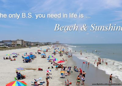 Beach Life Words of Wisdom The Only BS You Need