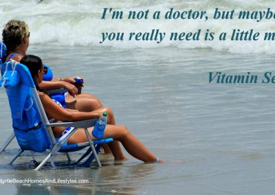 Beach Life Words of Wisdom Vitamin sea