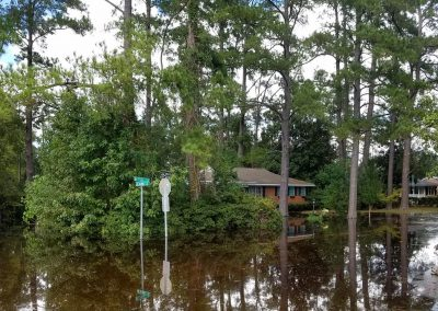 Flooding in Myrtle Beach & Conway SC Hurricane Florence